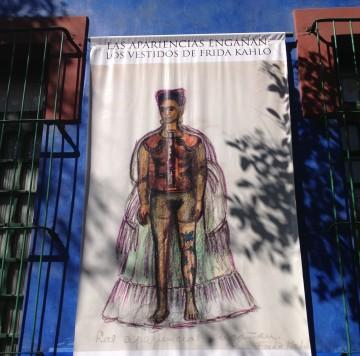 La casa azul Las apariencias engañan: Los vestidos de Frida Kahlo