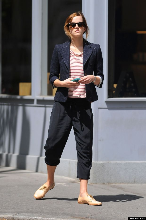 Emma Watson out and about, New York, America - 07 May 2013